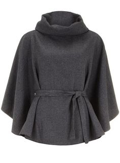 Grey cape - Very Olivia Pope!  Love!