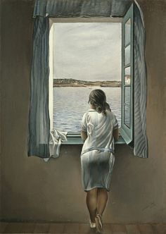 Dalí - Special Exhibition Image Gallery: Woman at the Window at Figueres, 1926