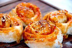 Pizzasnegle – bedste pizzasnegle med fyld