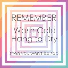 LuLaRoe Washing instructions