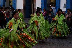 Religious festival, Cusco