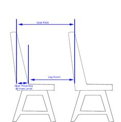 Plane Leg Room Diagram - Chair - Wikipedia