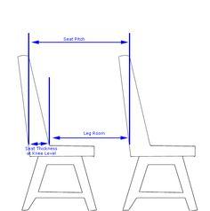Plane Leg Room Diagram - Chair - Wikipedia