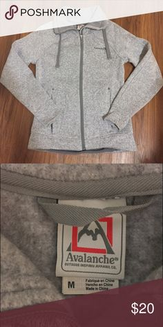 Gray Avalanche Sweater Size M Gray Avalanche Sweater Size M fantastic condition, like new and very warm! Avalanche Sweaters