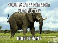 elephant meme - Google Search