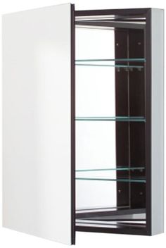 Robern CB PLM2430BRE Pl Series Right Side Flat Mirror Medicine Cabinet