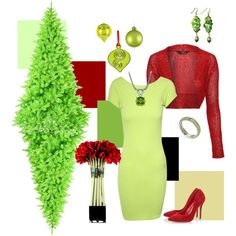 Christmas in Any Color-Lime