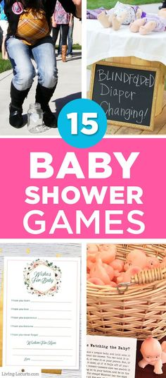 Fun new easter egg hunt ideas and the cutest giant easter basket tired of the same old baby shower games want something different for your party check out these 15 refreshingly different baby shower game ideas negle Image collections