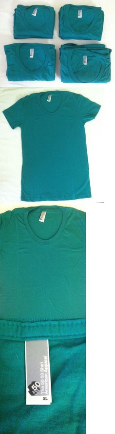 Shirts Tops 50990: Wholesale Lot Of 11 American Apparel Women S Bb301 Poly Cotton 50 50 T-Shirts -> BUY IT NOW ONLY: $65.95 on eBay!