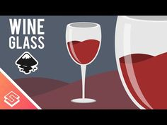 Inkscape Tutorial: Vector Wine Glass - YouTube