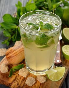 Mohito z szampanem Cocktail Recipes, Cocktails, Drinks, Top 5, Cantaloupe, Alcohol, Menu, Fruit, Cooking