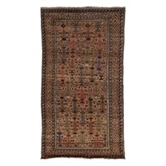 "Tribal Collection Oriental Rug, 4'3"" x 8'3"""