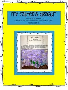 Freebie! Please leave feedback! Today and tomorrow only! My Father's Dragon~ Special Education/ELL Literature Journal