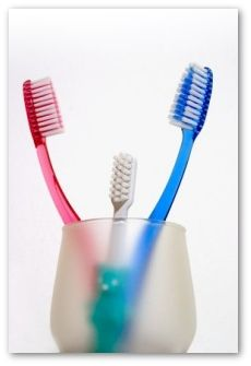 sanitize your toothbrush