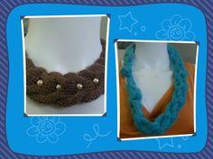 Collier Crochet Necklace, Jewelry, Fashion, Cashmere Wool, Necklaces, Moda, Jewlery, Jewerly, Fashion Styles