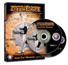 Kettlercise  Just for Women  Kettlebell Work out DVD