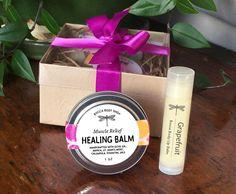 Healing Balm Skin & Muscle Mend with Arnica, Calendula, and St. John's Wort