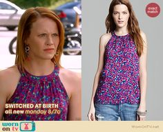 Daphne Vasquez Fashion on Switched at Birth Katie Leclerc, Switched At Birth, Awesome Things, Tv Shows, Fashion Outfits, Tank Tops, Purple, Random, My Style