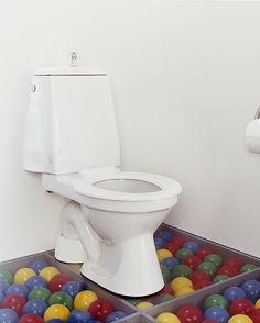 toalett Barnemodell, Med sete og lokk, s-lås Toilet, Bathroom, Products, Washroom, Flush Toilet, Full Bath, Toilets, Bath, Bathrooms