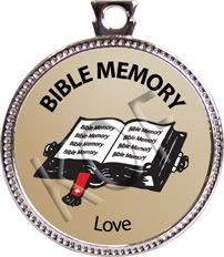 Keepers of the Faith - Love, Bible Memory, Silver Disk - Product Details