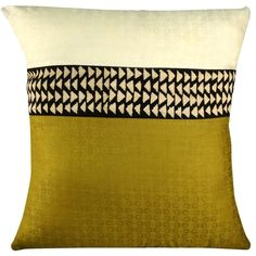 Amazon.com: African Cream and Sage Mudcloth Throw Pillow: Home & Kitchen