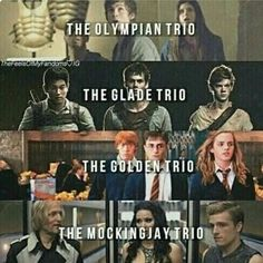 Percy Jackson, The Maze Runner, Harry Potter & The Hunger Games Citations Photo, Citations Film, I Love Books, Good Books, My Books, Percy Jackson, Movie Quotes, Book Quotes, Fandom Quotes