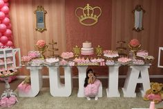 Princess Birthday Party Ideas | Photo 1 of 26 | Catch My Party