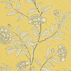 OFF RRP - Buy Sanderson Chinese Peony Wallpaper in Yellow 212135 from Decor Supplies. FREE UK Delivery on orders 95 pounds.