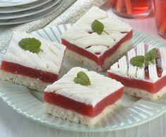 Kokosovo jahodový zákusok Cheesecake, Food, Basket, Deserts, Recipes, Cheesecakes, Essen, Meals, Yemek