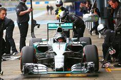 Nico Rosberg (GER) Mercedes AMG F1 W06.Formula One Testing, Day Three, Tuesday 3rd February 2015. Jerez, Spain.