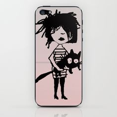 $15 pets and girls iPhone & iPod Skin