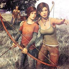 Tomb Raider Game, Lara Croft, Fan Art, Cosplay Tomb raider