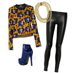 A fashion look from December 2013 featuring Kenzo cardigans, The Row pants and Shoe Cult ankle booties. Browse and shop related looks.