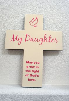 My Daughter May you grow in the light of Gods by Frameyourstory, $39.95