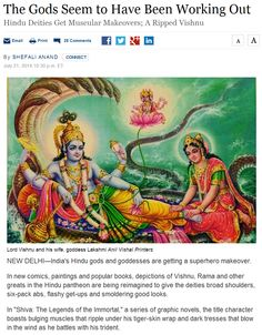 """All the Gods are Idols - The Evolution of Idolatry: Hindu Deities Get Muscular Makeovers. * * *  """"All gods were immortal."""" - Stanislaw J. Lec (1909–1966) http://www.pinterest.com/pin/540924605217073531/  http://www.pinterest.com/pin/540924605216622911/ http://www.pinterest.com/pin/540924605216377604/ http://www.pinterest.com/pin/540924605216371204/ http://www.pinterest.com/pin/540924605216430275/ http://www.pinterest.com/pin/540924605216377604…"""