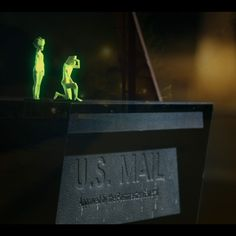 Glowing 3D-printed characters explore LA in Cut Copy music video by PARTY