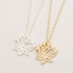 The+lotus+flower+is+considered+a+symbol+of+purity+and+patience,+making+this+necklace+a+great+gift+idea+for+the+women+in+your+life.+This+simple+necklace+features+a+hollow,+lotus+flower+pendant+which+adds+elegance+to+any+outfit.+The+chain+length+is+just+right+for+a+wide+selection+of+necklines+and+s...