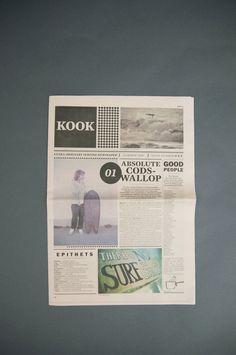 Kook Newspaper - Issue Number 01