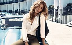 Download wallpapers 4k, Gisele Bundchen, portrait, brazilian supermodel, beautiful woman, white shirt, brown jeans
