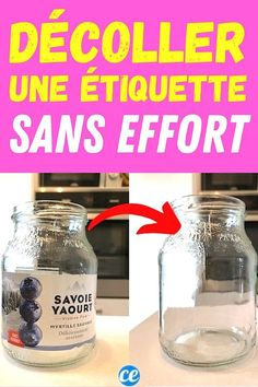 Glass Jars, Declutter, Clean House, Life Hacks, Personal Care, Cleaning, Cool Stuff, Homework, Hacks