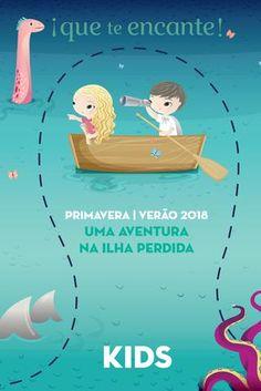 LOOKBOOK KIDS COLEÇÃO PRIMAVERA|VERÃO 2018 - UMA AVENTURA NA ILHA PERDIDA