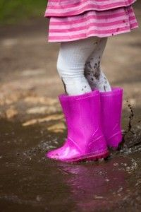 Rain, Rain Go Away (Or Put on Your Boots and Go Out and Play)