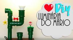 Saiba como fazer uma luminária do Mário para decorar a sua casa