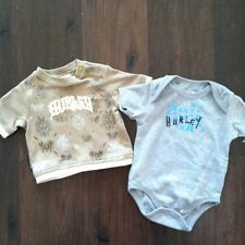 HURLEY SET OF BABY BOY Logo Shirt And Onepiece 0-3 3-6m
