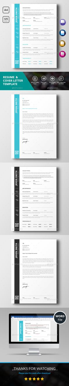 Including: CV, Resume Tips, Resume Writing, Professional Resume and more. Resume Cover Letter Template, Simple Resume Template, Cover Letter For Resume, Cv Template, Resume Templates, Report Template, Job Resume, Resume Tips, Resume Design