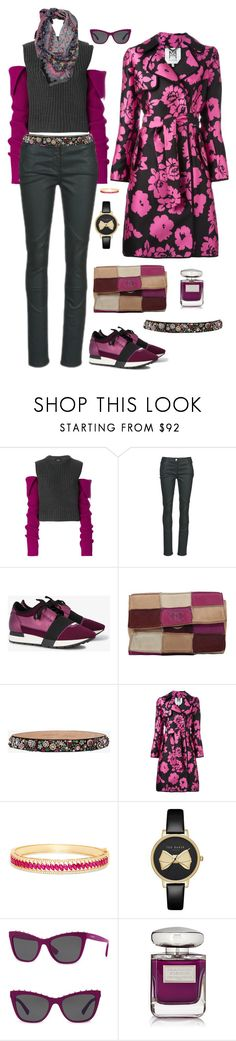 sonbahar by galata-kule on Polyvore featuring moda, Calvin Klein 205W39NYC, Milly, Kookaï, Balenciaga, Chanel, Ted Baker, Effy Jewelry, Valentino and Alexander McQueen