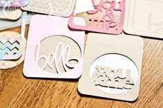 Kim Dellow: DIY Journaling Cards Tutorial With The Cricut Explore