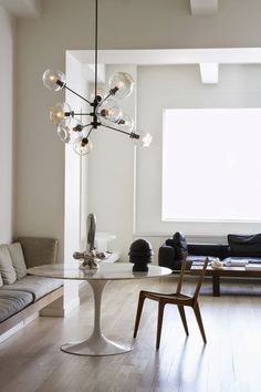 CincoSoloCinco: Decoración: Mesa Tulip de Eero Saarinen