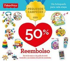 Reembolso Fisher Price - http://parapoupar.com/reembolso-fisher-price/