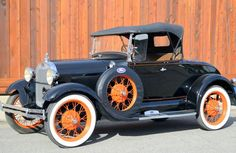 1929 Ford Model A Roadster..Re-Pin..Brought to you by #HouseofInsurance in #EugeneOregon